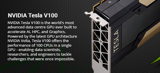 Tesla GPU Rackmount Servers