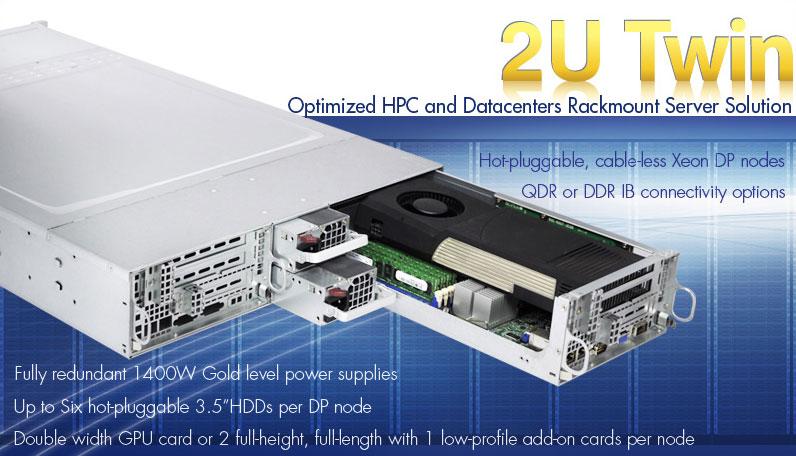 Supermicro 2U Twin Servers | 2 in 1 Servers