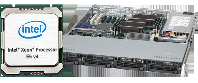 Intel Xeon E5 Rackmount Servers