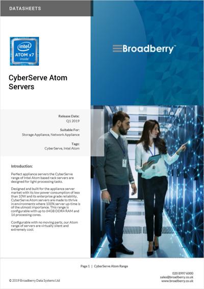 Intel Atom Servers