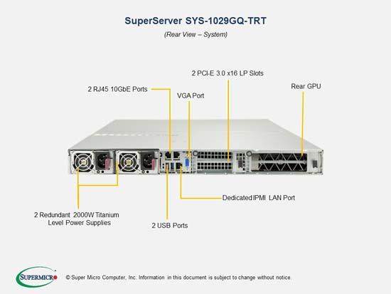 Ultra High-Density GPU Computing 1U Supercomputer, 4x Tesla