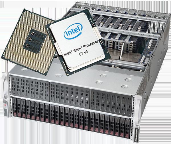 Xeon E7 v4 Quad Processor Servers