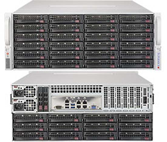 High Storage Capacity Supermicro Superservers