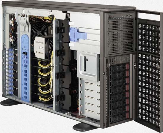 Supermicro GPU SuperWorkstation 7047GR-TRF | SYS-7047GR-TRF