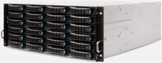 4U, 24 Bay (DAS) Direct Attached Storage Server / JBOD SAS424