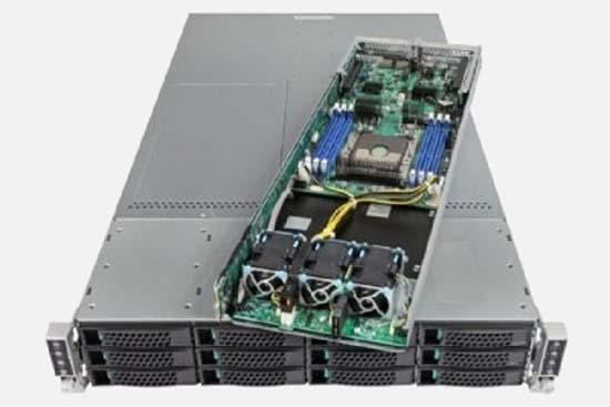 Series 2U Rackmount Server With 12 SATA3, SAS Drives