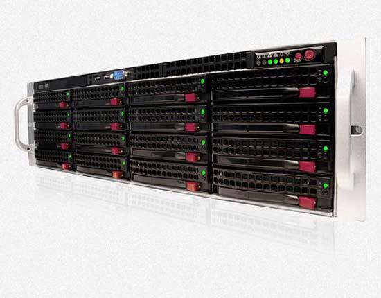 CyberStore 316S ZFS ISCSI SAN & NAS - NexentaStor Storage
